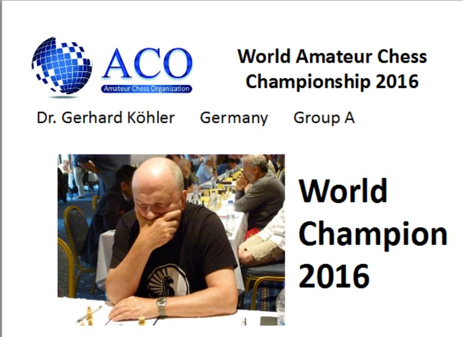 world champion dr gerhard koehler